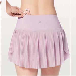 Lululemon Just Pleat It Skirt